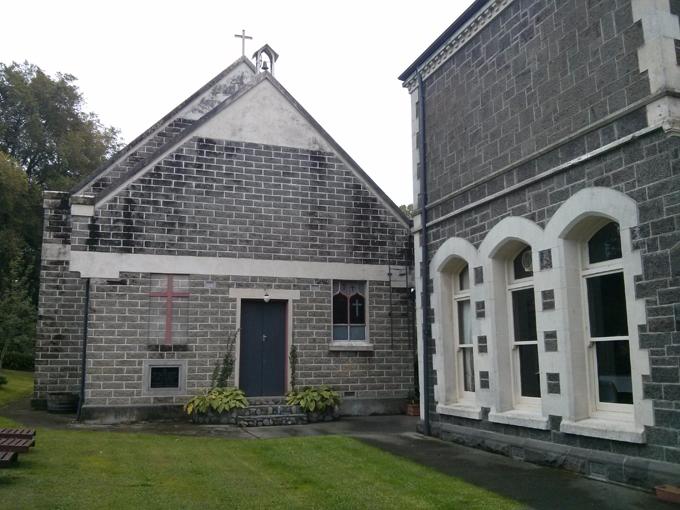 The Claremont Castle chapel.
