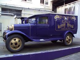 One of the original Hershey delivery cars in New Zealand