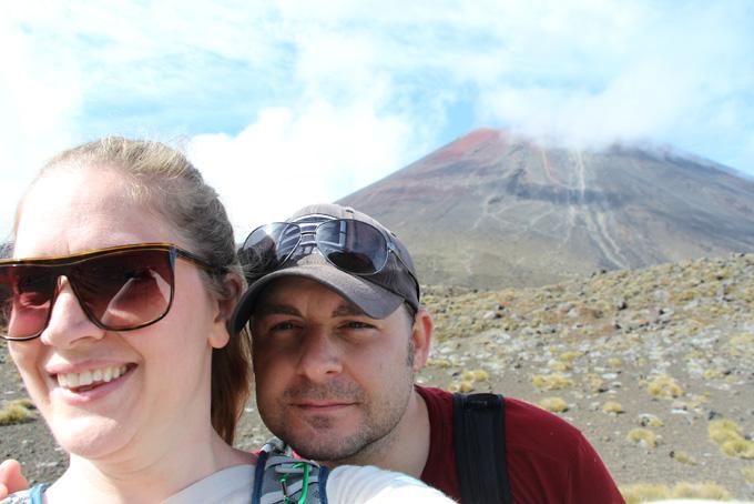 Mount Doom Selfie!