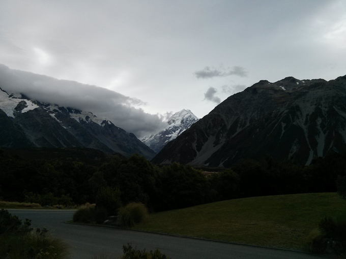 View of Mt Cook