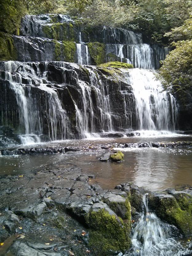 Purakaunui Falls...the most professionally photographed waterfall in New Zealand.