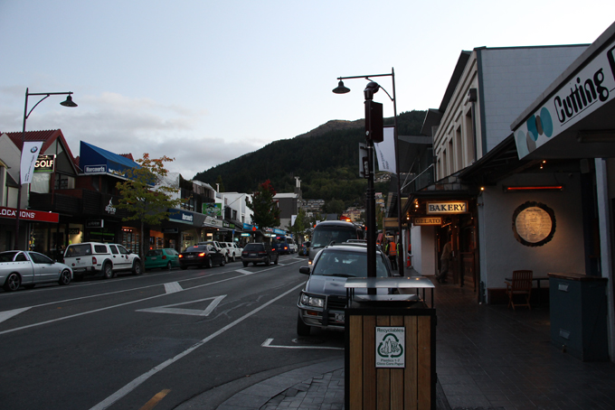 Queenstown downtown