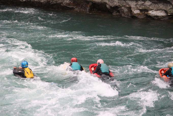 Some more white water rapid fun!