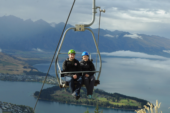 Skyline Luge chairlift