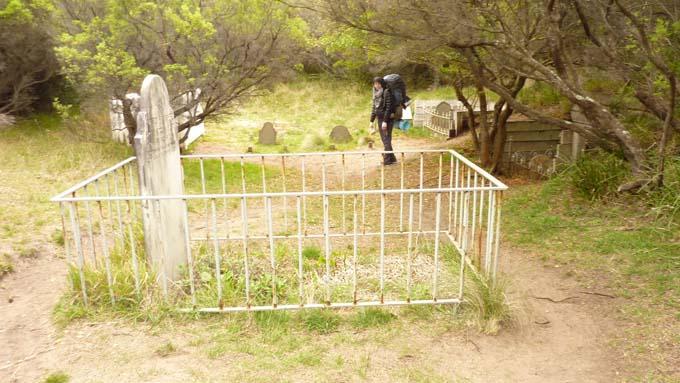 Cape Otway historic graveyard.