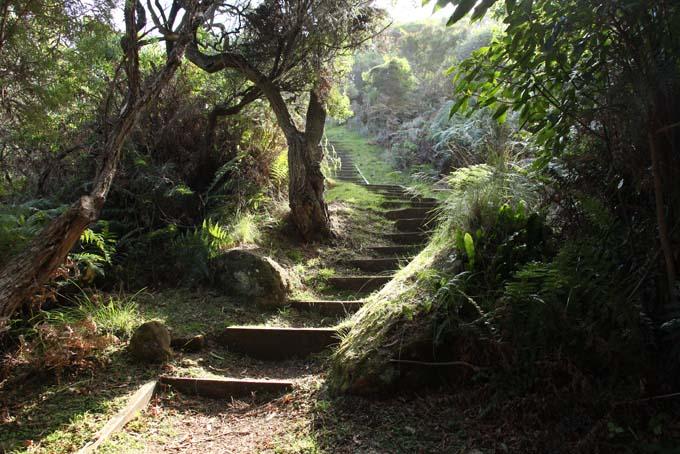 Devil's Kitchen hike path