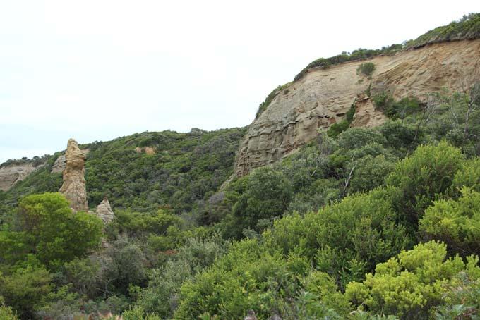 Devil's Kitchen hike path views