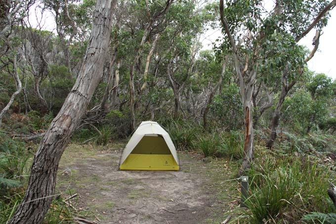 Devil's Kitchen campsite