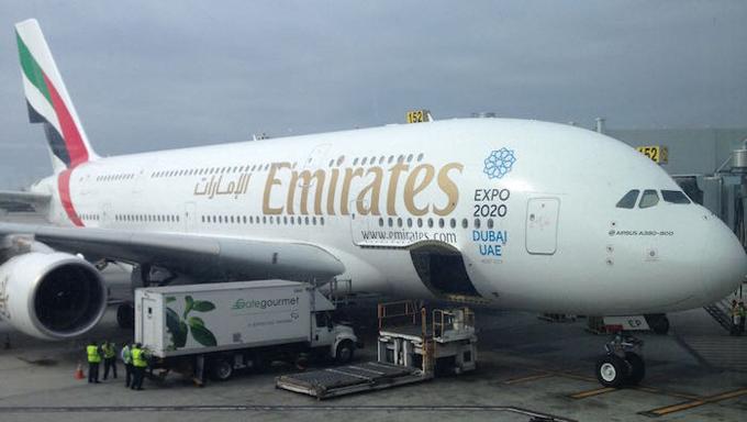 Emirates-A380 Airbus
