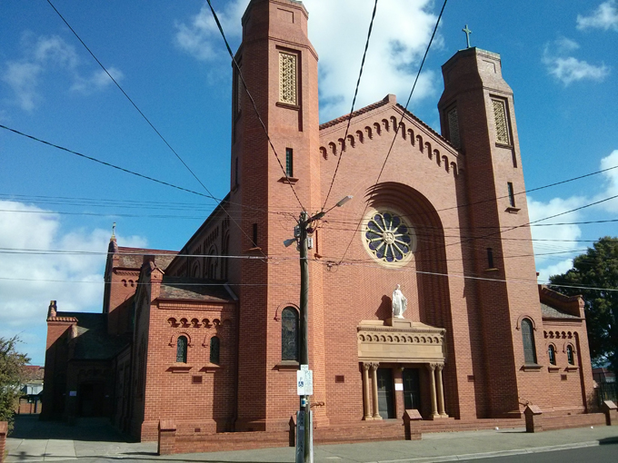 Ascot Vale church
