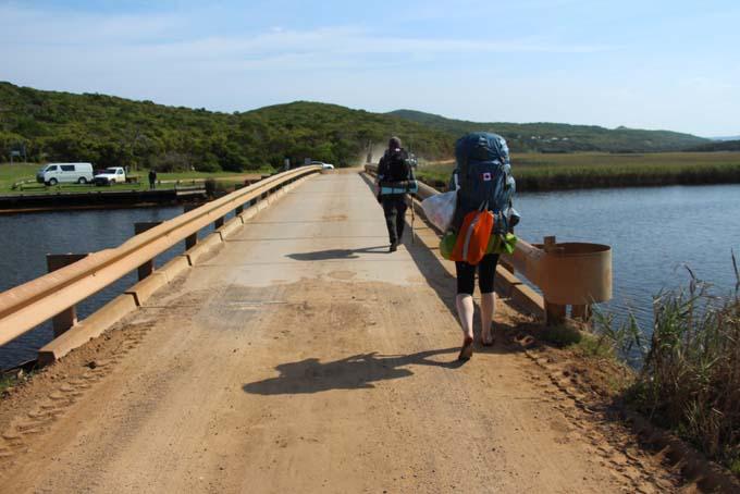 Princetown hike path bridge