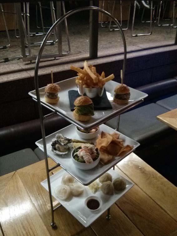 The Sydney Opera House Three-Tier Food Platter