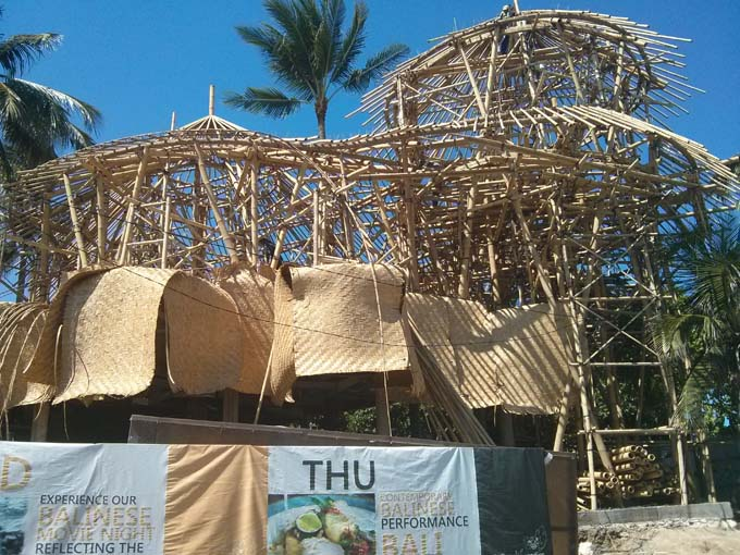 Bali-Bamboo Construction