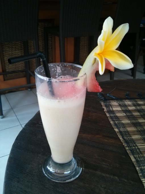 Bali-Ubud-Food-Banana Sunshine Juice