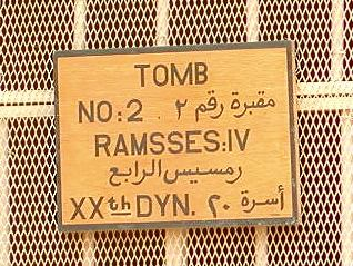 KV 2 - Rameses IV-2