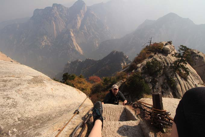 China-Huashan Mountain-083