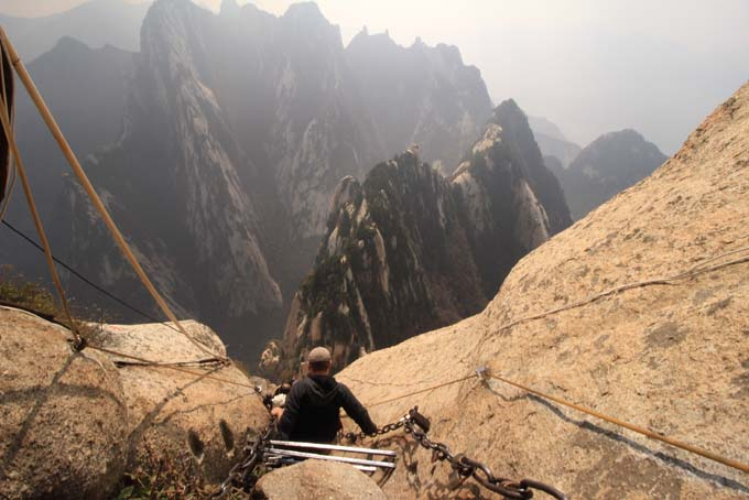 China-Huashan Mountain-117