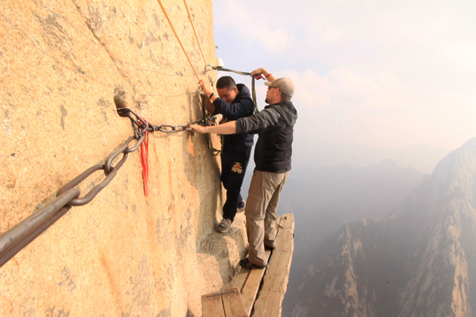 China-Huashan Mountain-142