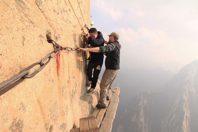 China-Huashan Mountain-143