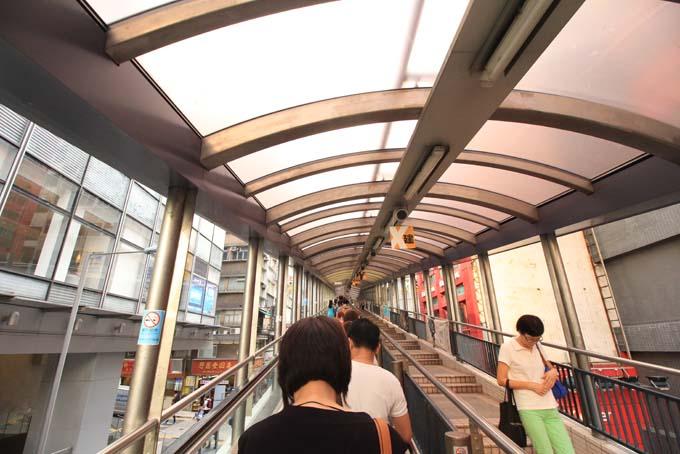 Hong Kong-Escalator-02