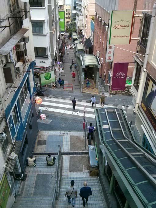 Hong Kong-Escalator-06