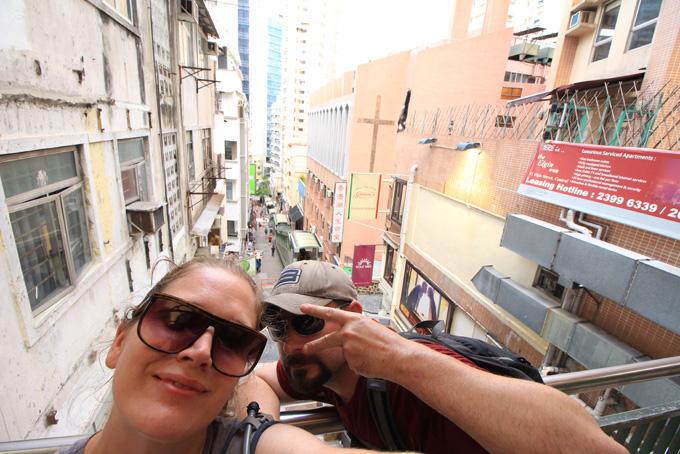 Hong Kong-Escalator-07