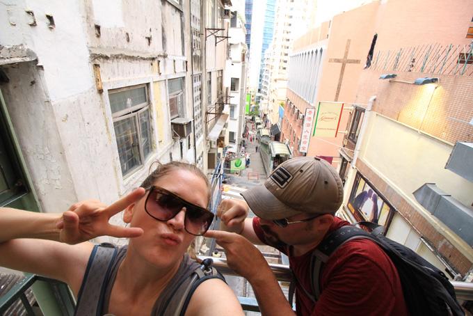 Hong Kong-Escalator-08
