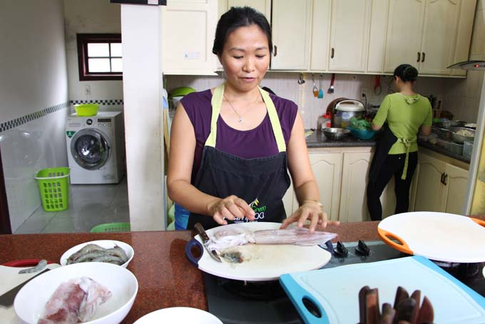 Vietnam-Hoi An-Green Bamboo Cooking Class-078
