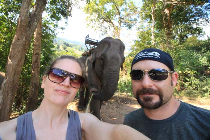 Chiang Mai-Elephant Riding-011