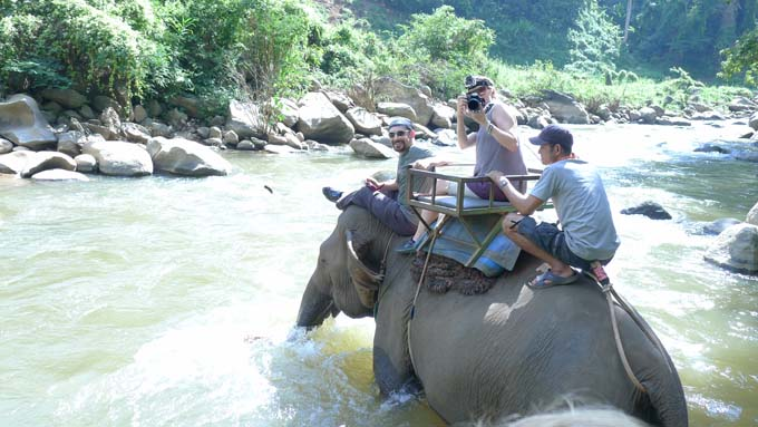 Chiang Mai-Elephant Riding-027